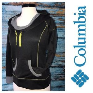 Columbia Sweater Sweatshirt M Wide Collar 2218